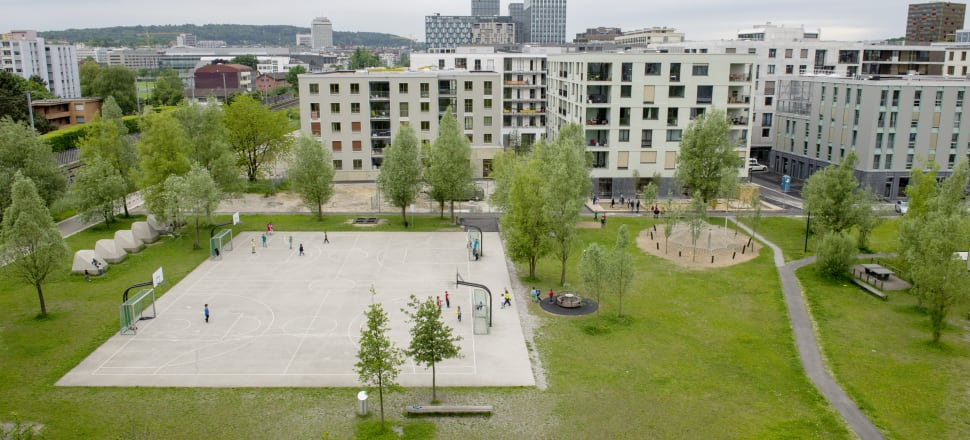 'More than Living' cooperative housing in Zurich. Photo: Ursula Meisser
