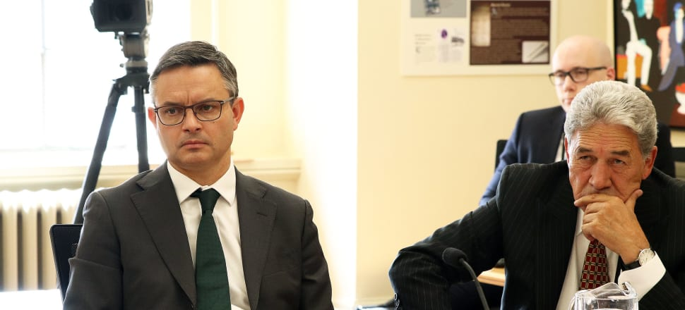 Both New Zealand First and the Greens are currently languishing in the polls – and the record of support parties in crossing the threshold after a term as a government support partner is not good.  Photo: Lynn Grieveson