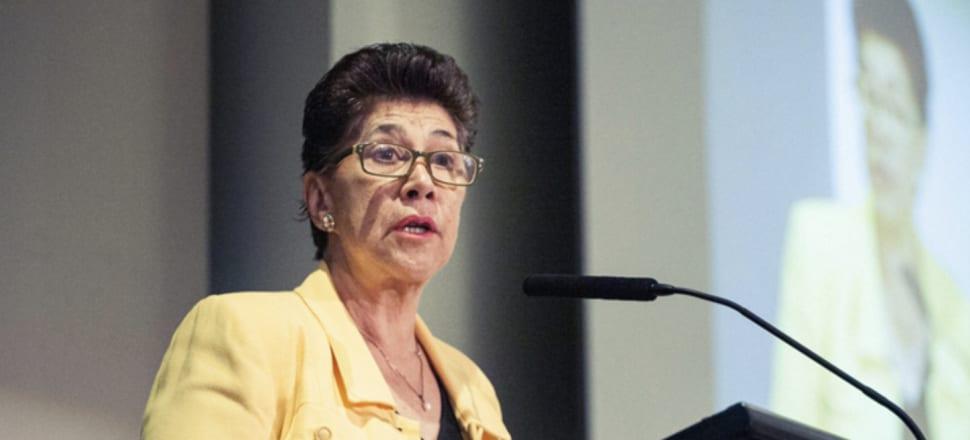 Whānau Ora Commissioning Agency Chair Merepeka Raukawa-Tait. Photo: Supplied
