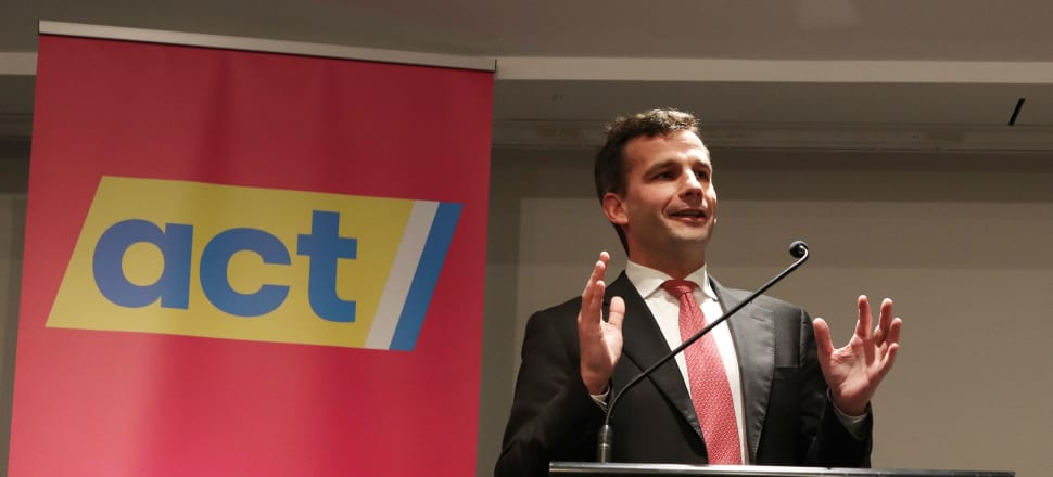 After six years as a party of one, David Seymour may be on the verge of ending his long and lonely purgatory. Photo: Lynn Grieveson