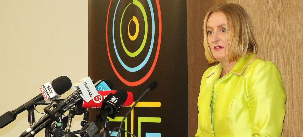 Oranga Tamariki CEO Gráinne Moss acknowledged mistakes had been made but said things were changing. Photo: Lynn Grieveson