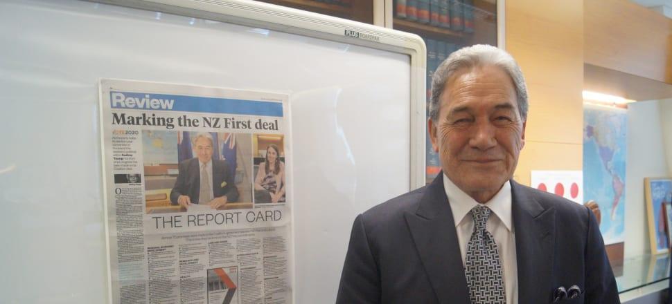 New Zealand First leader Winston Peters says he's more than just a handbrake. Photo: Sam Sachdeva