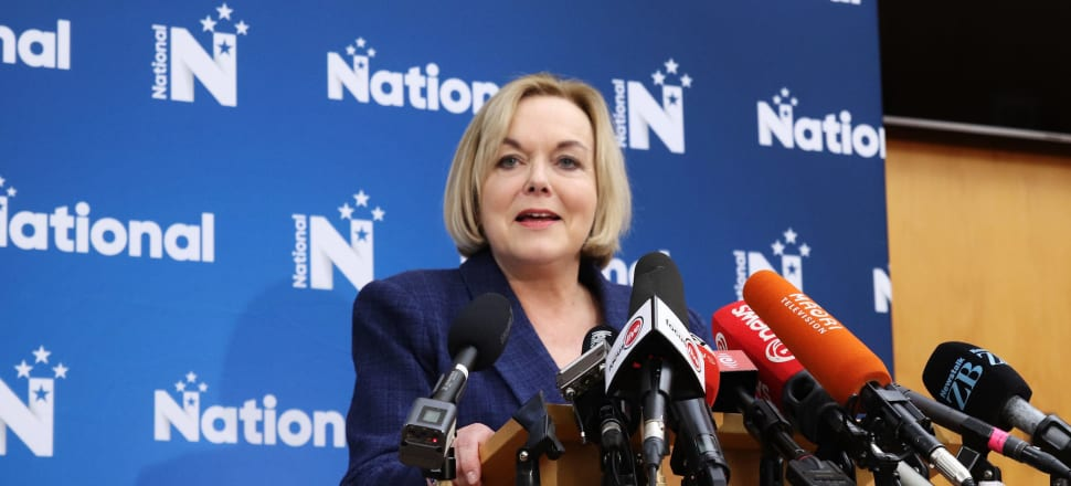 """National leader Judith Collins said the Government's target of reducing the prison population by 30 percent over 15 years """"has the wrong focus and we will scrap it"""". Photo: Lynn Grieveson"""