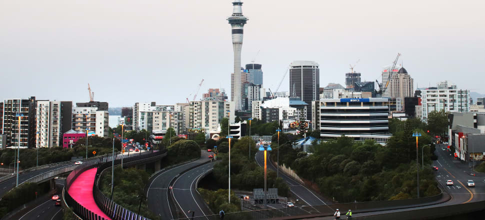 A Cabinet paper from April identified the border between Auckland and the Waikato as being one of the most difficult regional boundaries to control in the event of different alert levels for different regions. Photo: Lynn Grieveson