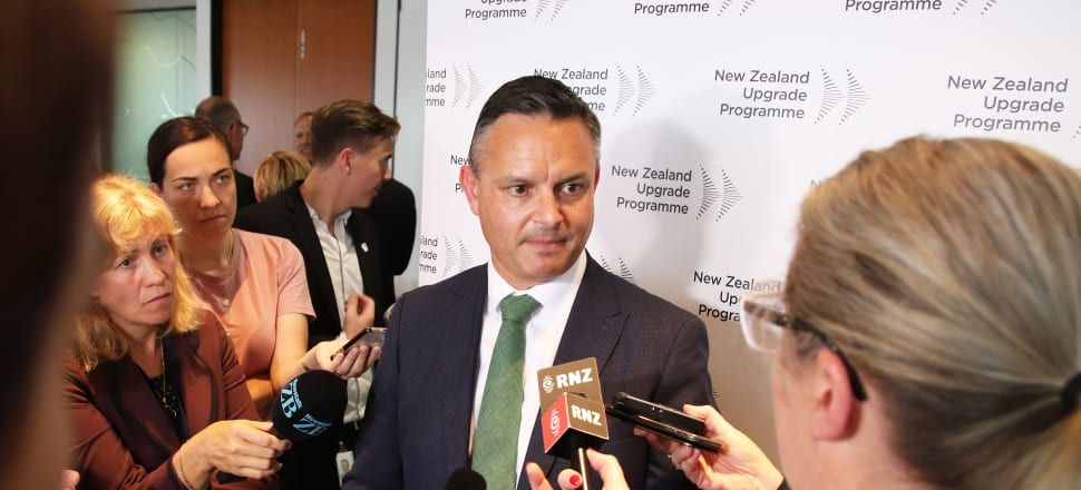 Green Party co-leader James Shaw has undergone a Covid-19 test after developing minor cold symptoms following a trip to South Auckland. File photo: Lynn Grieveson.