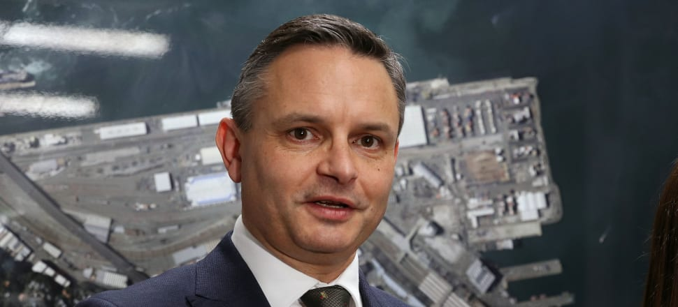 Green Party co-leader James Shaw underwent a Covid-19 test after experiencing mild cold symptoms following a visit to South Auckland. Photo: Lynn Grieveson.