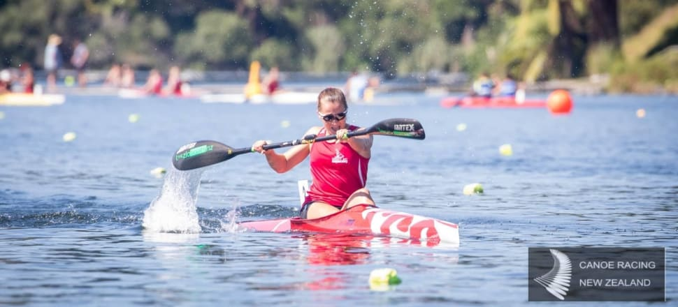 Alicia Hoskin, who finished ninth in the K2 500m with Caitlyn Ryan at the last world canoe racing champs, is hoping to race at next year's Tokyo Olympics. Photo: Jamie Troughton/Dscribe Media