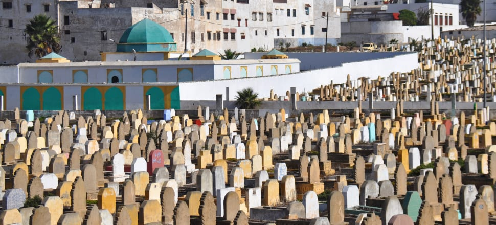 An Islamic cemetery. Photo: Getty Images