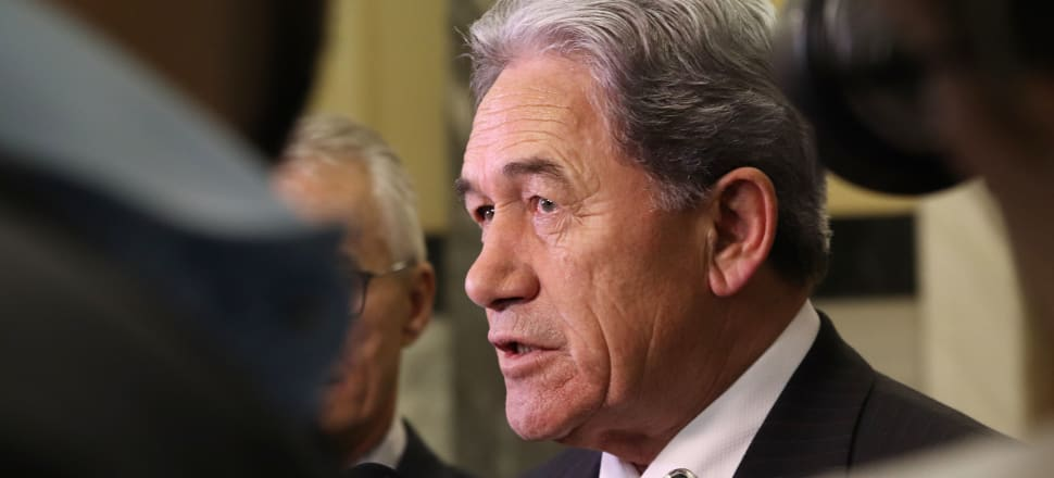Winston Peters laid a police complaint about the theft of donation information - now the SFO is looking at exactly that issue. Photo: Lynn Grieveson