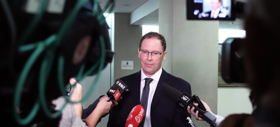 RNZ's CEO Paul Thompson was grilled by journalists about the announcement that Concert FM would be dropped in favour of youth broadcasting after he appeared before a select committee on Thursday. Photo: Lynn Grieveson