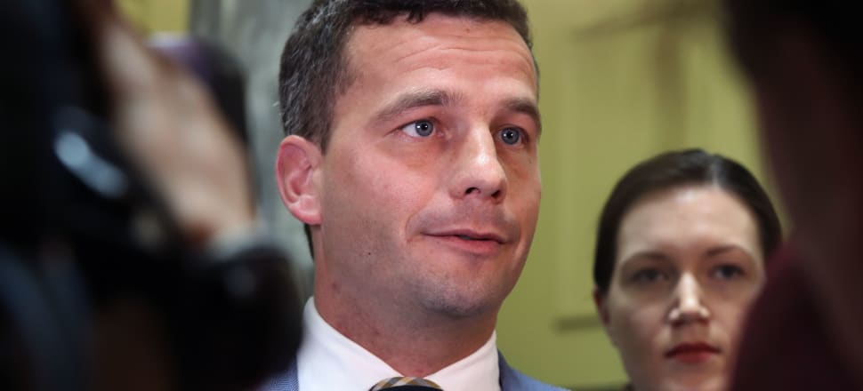 """ACT Party leader David Seymour has come under fire after accepting a donation from a far-right extremist andcharacterising the man's threats to destroy mosques as """"a silly comment on Facebook"""". Photo: Lynn Grieveson"""