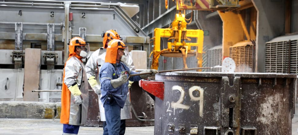 The manufacturing industry is off to a sluggish start with the sector in contraction for the second month in a row. Photo: Getty Images
