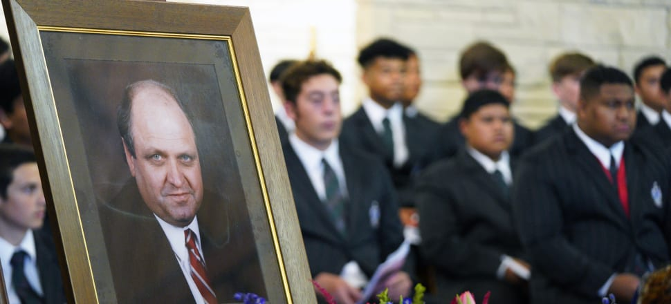 Mike Moore, back at Dilworth one final time. Photo: Pool.