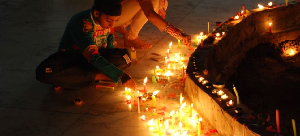 Diwali is one way of keeping the Indian culture alive for the New Zealand born generation. Photo: Harpreet Singh