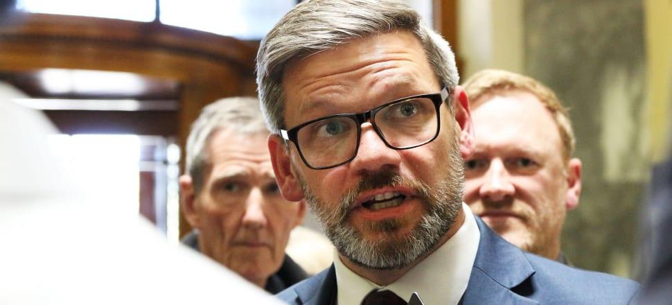 Immigration Minister Iain Lees-Galloway. Photo: Lynn Grieveson