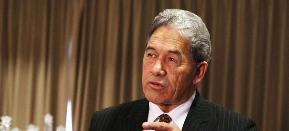 Winston Peters has denied any wrongdoing in relation to the New Zealand First Foundation, which is now the subject of a Serious Fraud Office investigation. Photo: Lynn Grieveson