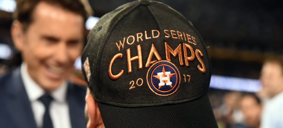 The 2017 Houston Astros are the latest club to enter sport's hall of shame. Photo: Getty Images