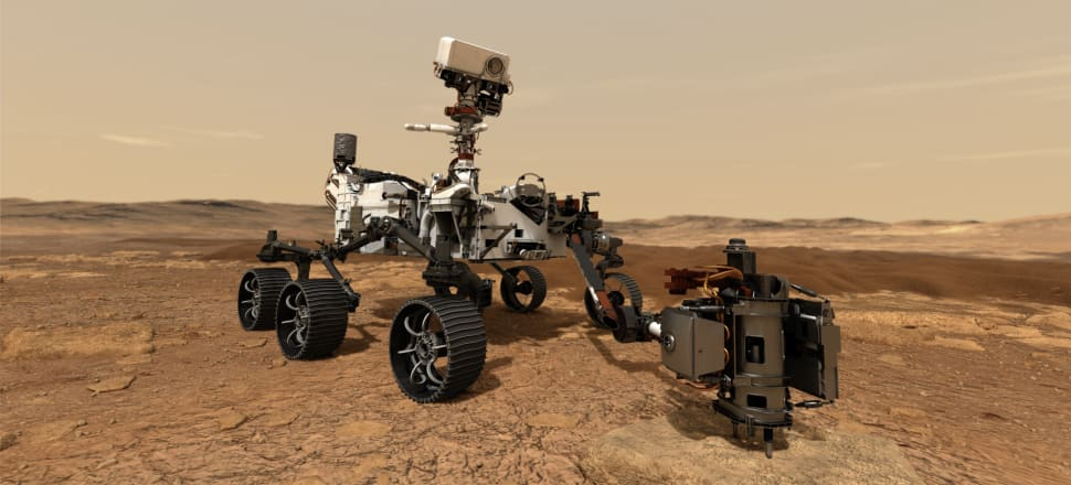 It's freezing cold, there are no signs of life, there's no running water - but we still want to get to Mars. Photo: NASA/JPL-Caltech
