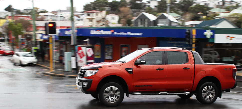 In 2019, five of the top eight models sold new in New Zealand were double cab utes. Our tax settings may be one reason why. Photo: Lynn Grieveson