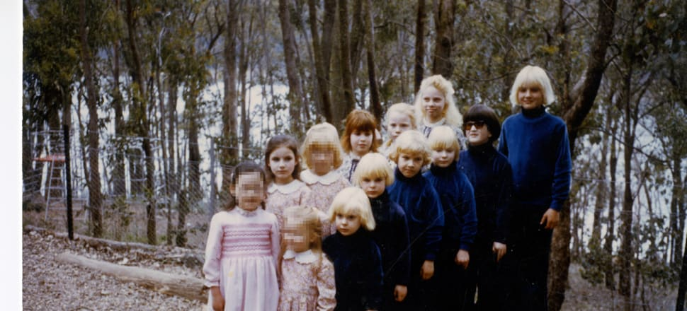 The children who were raised by Australian cult The Family. Photo courtesy of Chris Johnston, from his book The Family: The shocking true story of a notorious cult.