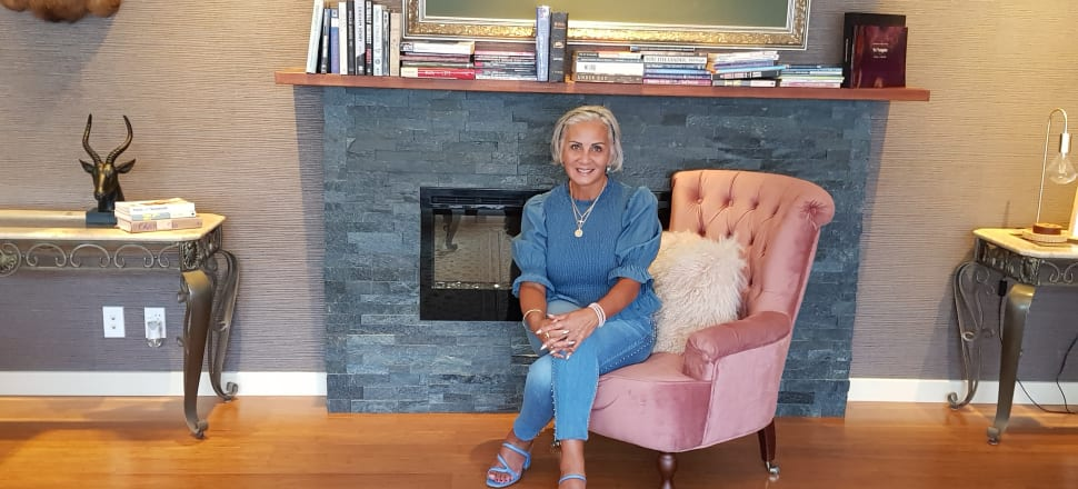 We continue our series of photographs of political leaders by their bookshelves with this image of Vision New Zealand leader Hannah Tamaki. Her favourite books include The Lady the Lover and her Lord by TD Jakes, I Found My Destiny by Ulf Ekman, Become a Better You by Joel Osteen, and Lorna Jane Clarkson's Eat Good Food.