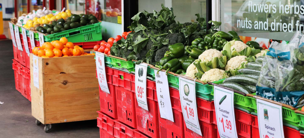The biggest price rises were fruit and vegetables, especially kiwifruit, which hit a record high average price of more than $8.20 a kilogram, nearly double the price the year before. Photo: Lynn Grieveson