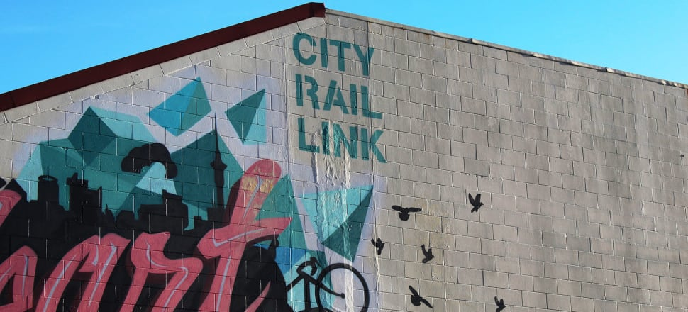 Small businesses affected by delays to Auckland's City Rail Link (CRL) project say they have little faith that a hardship fund set up for them will be of much help. Photo by Lynn Grieveson.