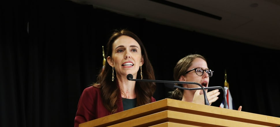 Prime Minister Jacinda Ardern announces the date for this year's general election. Photo: Lynn Grieveson.