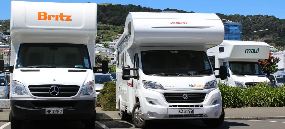 Campervan rental company Tourism Holdings, which also operates the Waitomo Caves attraction, is down more than 6 percent, although the company said it's seen no virus-related effect on its business.  Photo: Lynn Grieveson