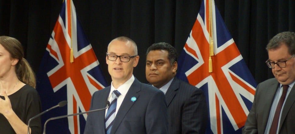 Announcing his resignation, David Clark said he had become a distraction to the Government's work. Photo: Marc Daalder.
