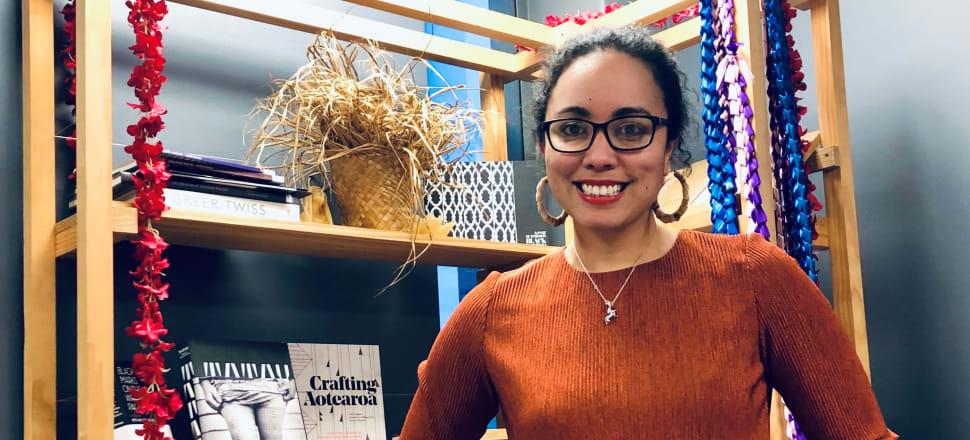 This week's bookshelf star is Courtney Sina Meredith, director of Karangahape Road gallery Tuatai, which is launched tonight. She is also co-author of The Adventures of Tupaia, illustrated by Mat Tait, a beautiful non-fiction book which has been shortlisted for the 2020 NZ Post childrens book awards.