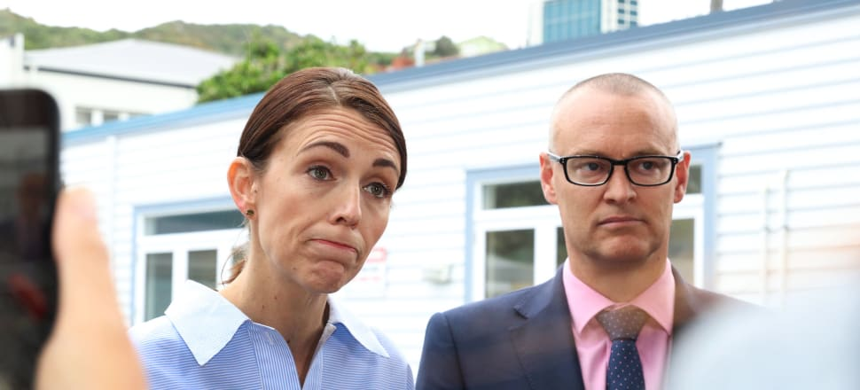 Jacinda Ardern's willingness to stand behind David Clark had clearly come to a tipping point. File photo: Lynn Grieveson.