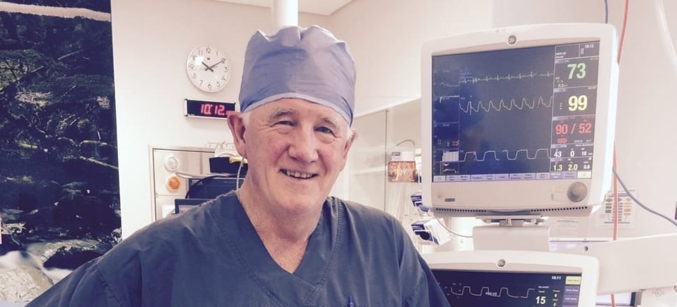 "Retired anaesthetist John Hyndman calls his ventilator a ""Toyota Corolla"", compared with the ""Rolls Royce"" machines in NZ operating rooms and ICUs. But during the Covid crisis there was a scary possibility we wouldn't have enough Rolls. Photo supplied."