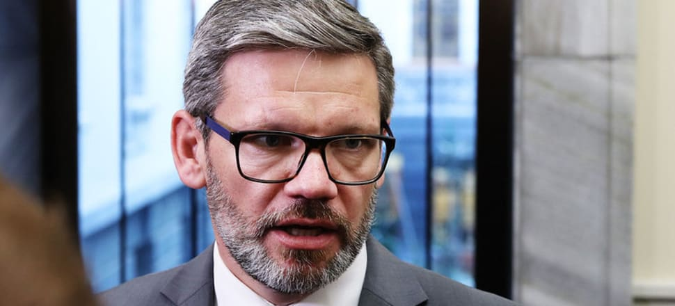 The borders will open for certain overseas terror victims and their families now a sentencing date has been set for the March 15 attacker, Immigration Minister Iain Lees-Galloway. Photo: Lynn Grieveson
