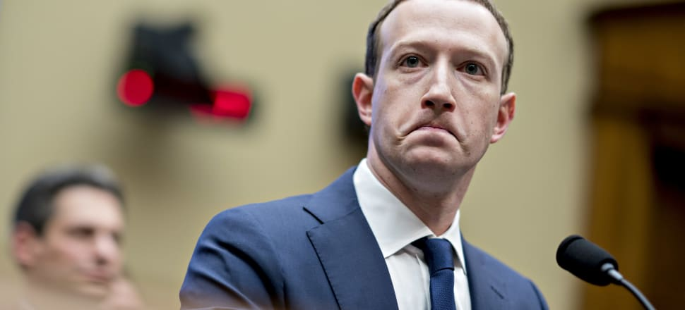 """Facebook CEO Mark Zuckerberg has said that Facebook does not want to be the """"arbiter of truth"""". Photo: Getty Images"""