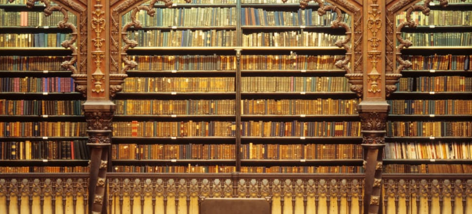 Books, rare and beautiful.  Photo: Getty Images