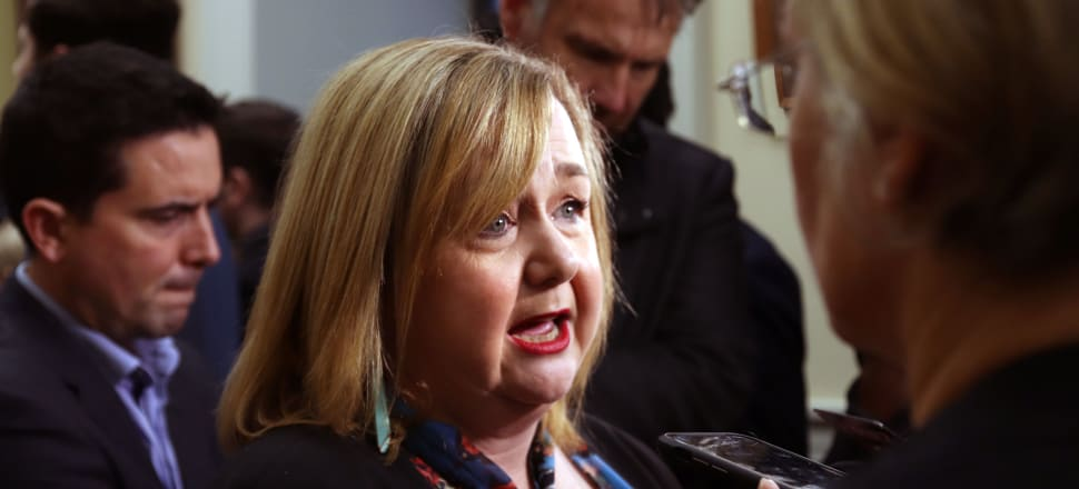 """Megan Woods is rapidly becoming this Government's """"go to"""" minister for crisis management. Photo: Lynn Grieveson"""