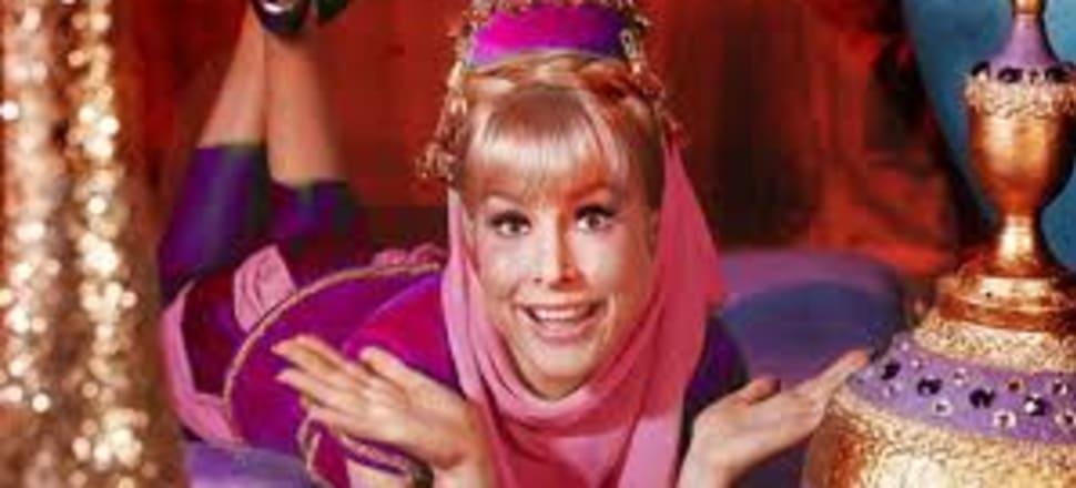 Barbara Eden as Jeannie in the 1960s Sitcom.  Photo: NBC