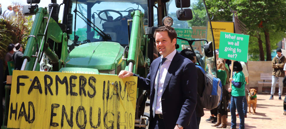 As a young MP in a true-blue seat, Hamish Walker could have clung onto the Southland electorate for decades - but now, that dream is over. Photo: Lynn Grieveson.