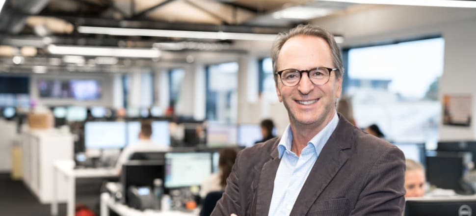 MediaWorks CEO Michael Anderson will step down from the troubled broadcaster at the end of the year. Photo: Supplied.