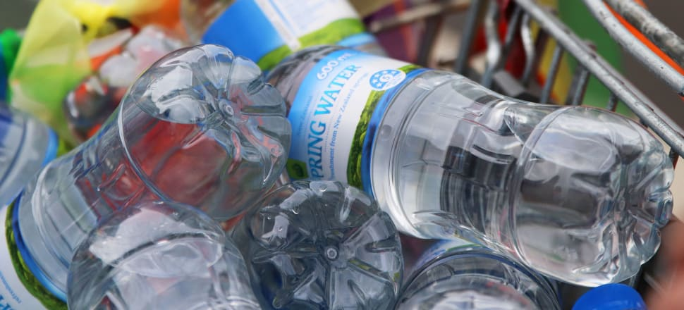 Tensions over skyrocketing levels of bottled water exports reached boiling point in the run-up to the 2017 election. Photo: Lynn Grieveson.