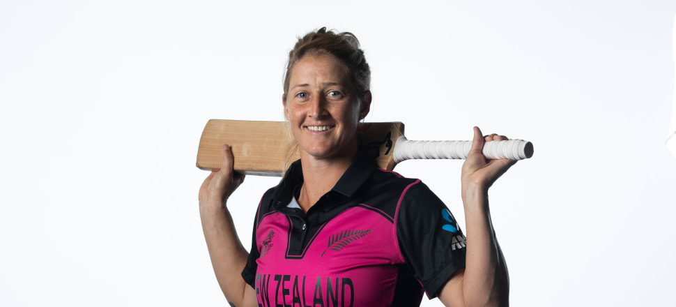 Sophie Devine has been made the fulltime captain of the White Ferns, as they start their preparation for the 2021 ICC Women's Cricket World Cup at home. Photo: Getty Images