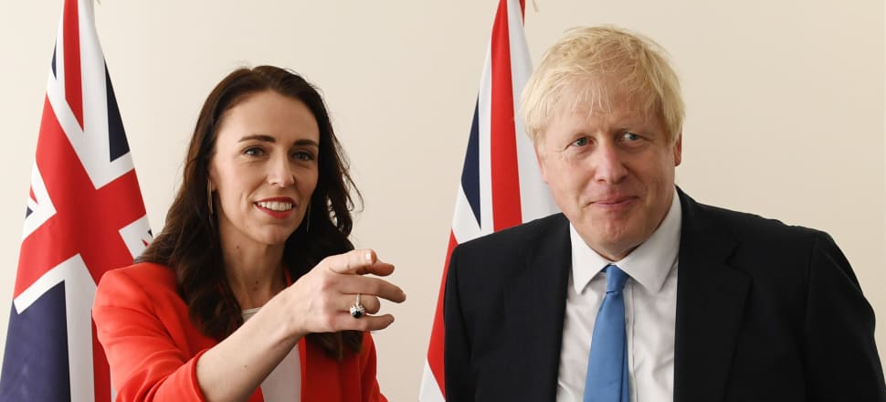 If Boris Johnson can marshal the British Tories to support a ban on fossil fuel vehicles, reduction of dairy emissions and a green recovery from Covid-19, surely Jacinda Ardern can too, writes Marc Daalder. Photo: Getty Images