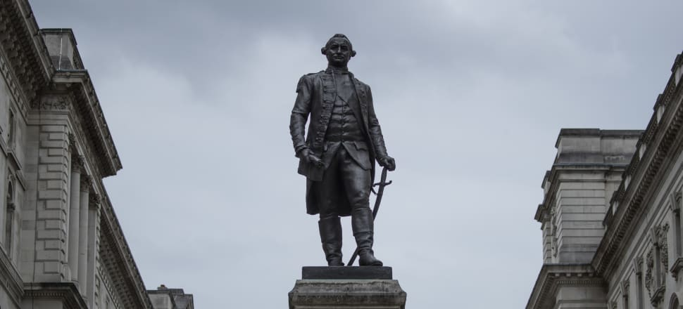 Clive in Hawkes Bay was named for Robert Clive, the man whose military exploits extended British rule over much of India. Here's a statue of him in London. Photo: Getty Images