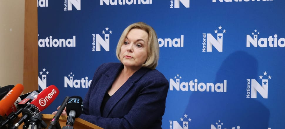 Judith Collins has announced a new National Party lineup. Photo: Lynn Grieveson.