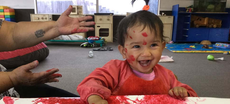 While the ECE sector is under pressure and some teachers are at breaking point, there are pockets of hope. Photo: Nga Taonga Aroha