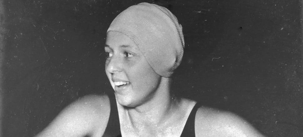 Philippa Gould had to wait months to hear news that her first two backstroke world records were official back in 1957. Photo: supplied.