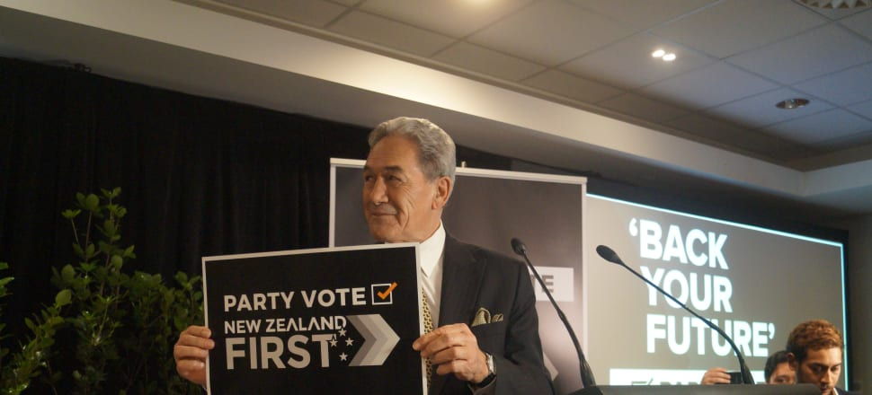 Winston Peters is trying to defy his party's history and make it more than one consecutive term in government. Photo: Sam Sachdeva.