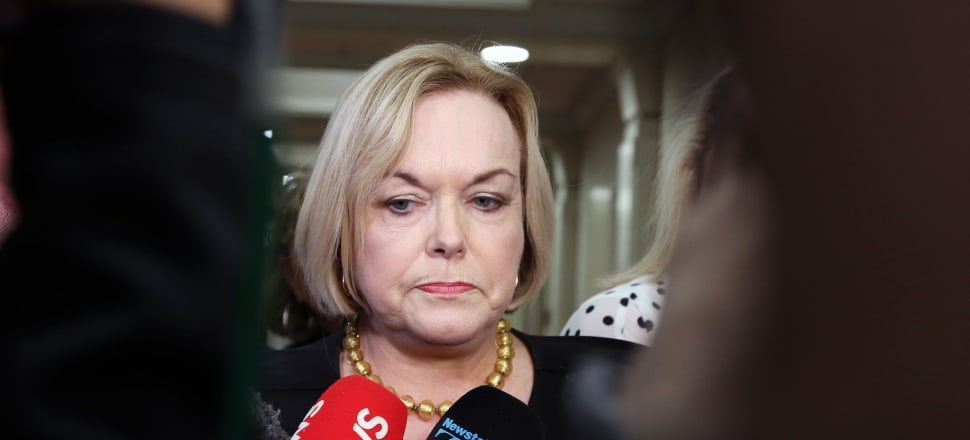 As with Todd Muller, Judith Collins' leadership of National has been rocked by the behaviour of a junior MP. Photo: Lynn Grieveson