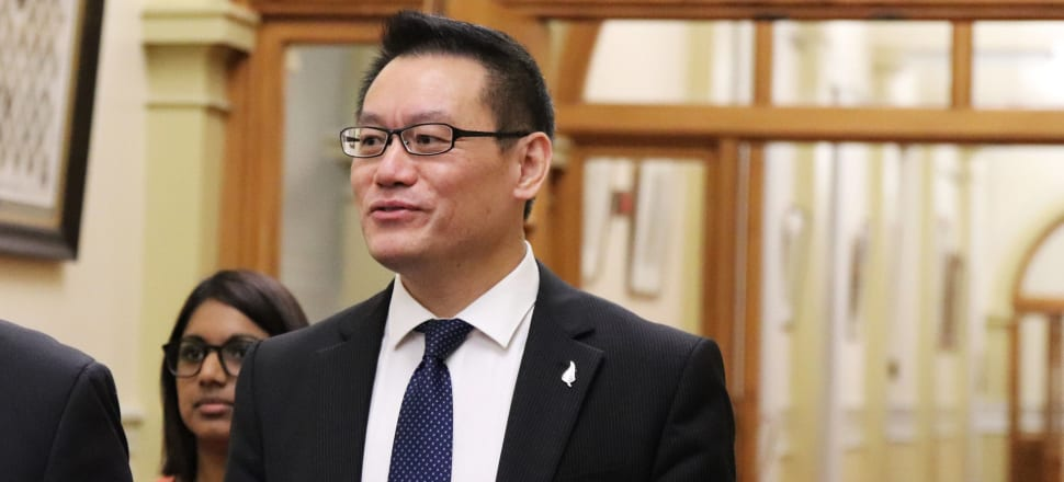 Raymond Huo says the lockdown had enabled him to spend more time with his family, and to reflect on his political career. Photo: Lynn Grieveson